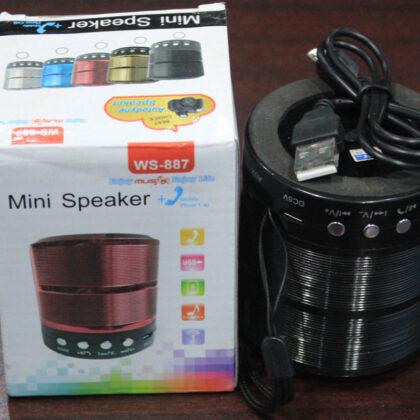 Mini Speaker WS- 887 (মিনি বক্স)